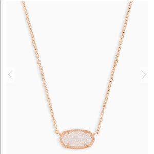 Brand New Kendra Scott Rose Gold Elisa Necklace